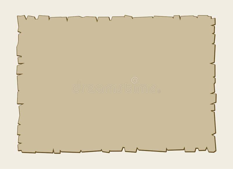 Fondo d'annata della pergamena di marrone di vettore illustrazione vettoriale