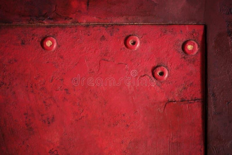 Fondo d'annata di struttura grungy rossa fotografia stock