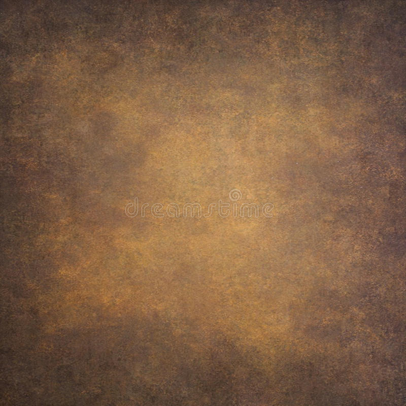 Fondo d'annata dipinto a mano arancio astratto fotografia stock libera da diritti