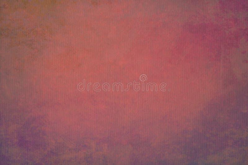 Fondo d'annata dipinto a mano astratto di Borgogna immagine stock