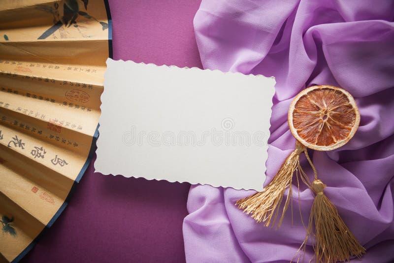Fondo d'annata porpora & lilla fotografie stock