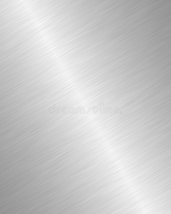 Fondo d'argento del metallo royalty illustrazione gratis