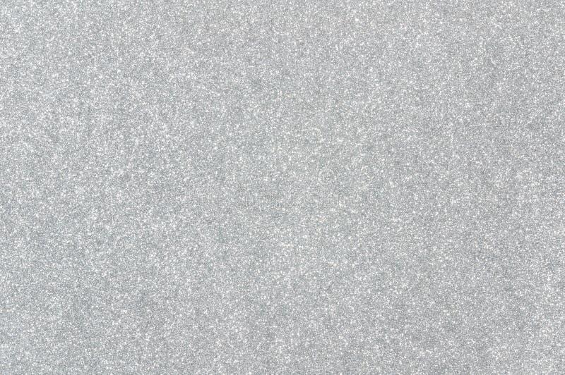 Fondo d'argento di struttura di scintillio immagini stock libere da diritti