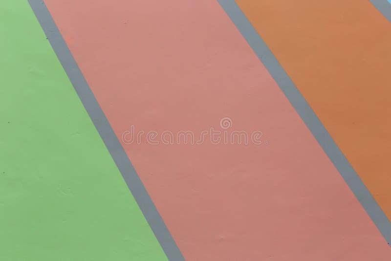 Fondo d'avanguardia concreto pastello variopinto geometrico dell'estratto immagine stock libera da diritti