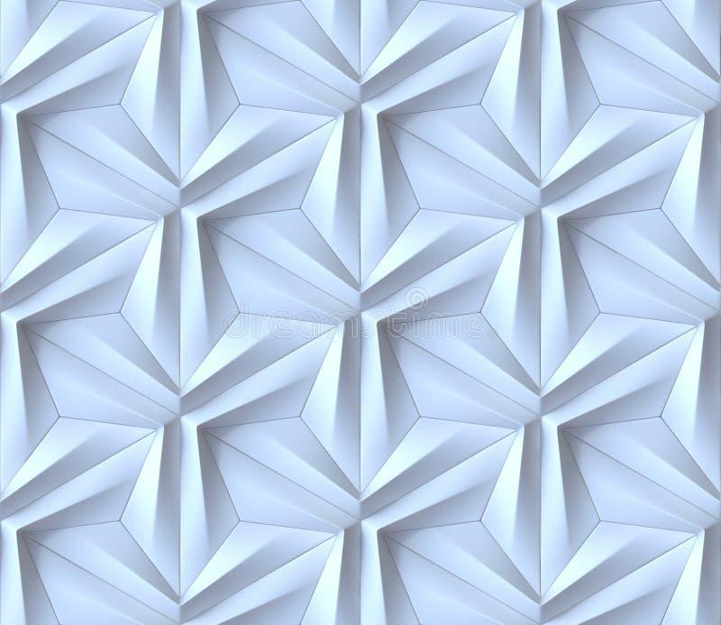 Fondo 3D del extracto de Seamles stock de ilustración