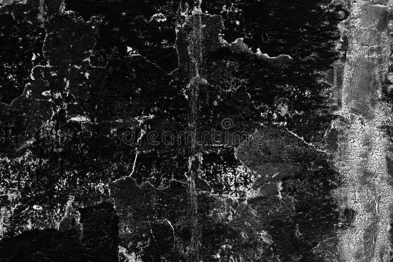 Fondo dall'alta parete dettagliata del nero della pietra del frammento fotografia stock