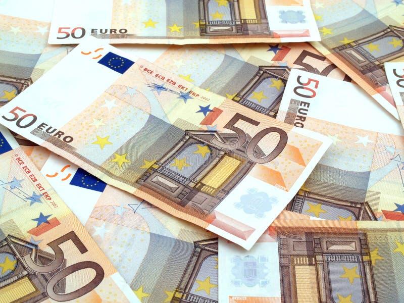 fondo de 50 euros imagenes de archivo
