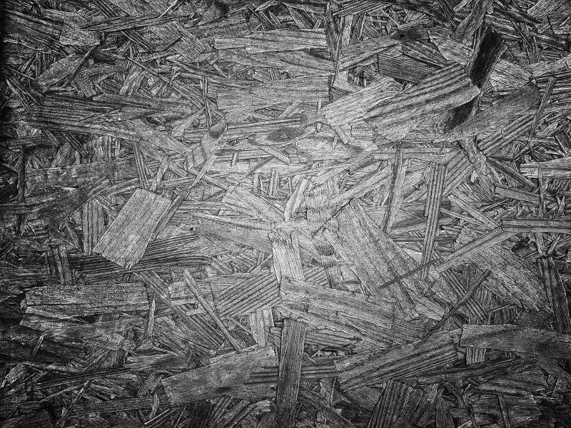 Fondo de acero del modelo del metal de madera blanco y negro de la textura foto de archivo