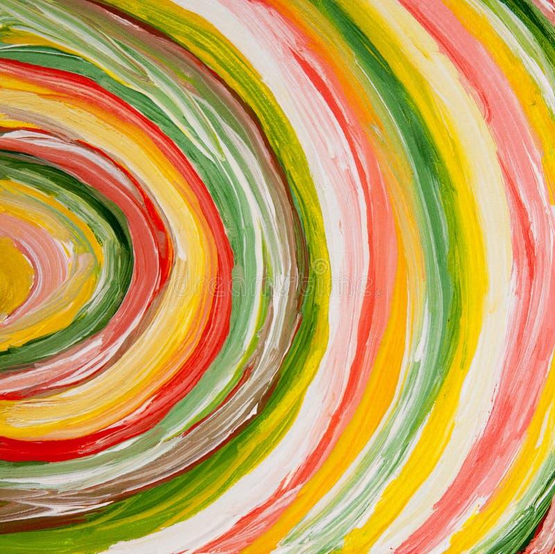 Fondo de acrílico de la textura del extracto de la pintura ilustración del vector