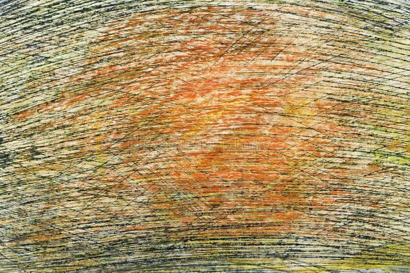 Fondo de acrílico pintado a mano abstracto fotografía de archivo