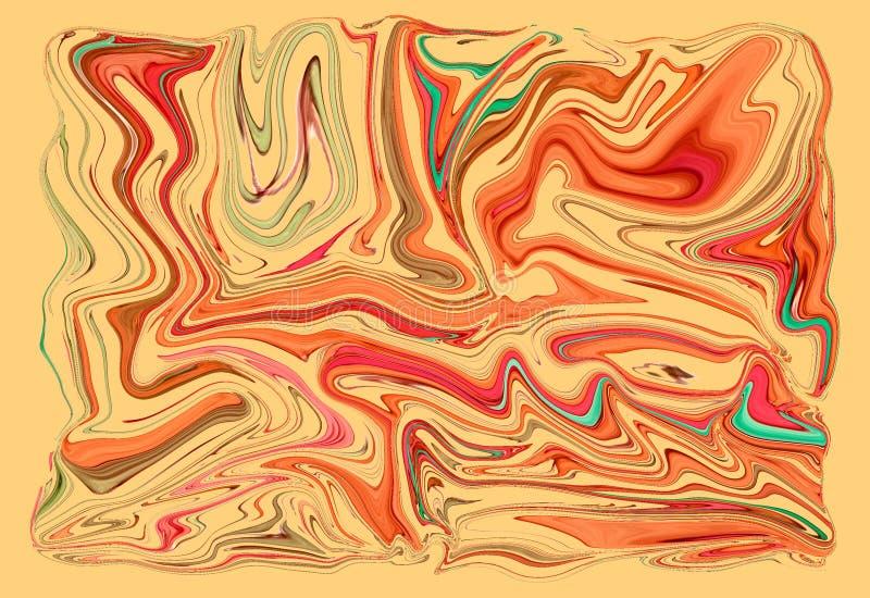 Fondo de acr?lico abstracto, textura del grunge para la decoraci?n stock de ilustración