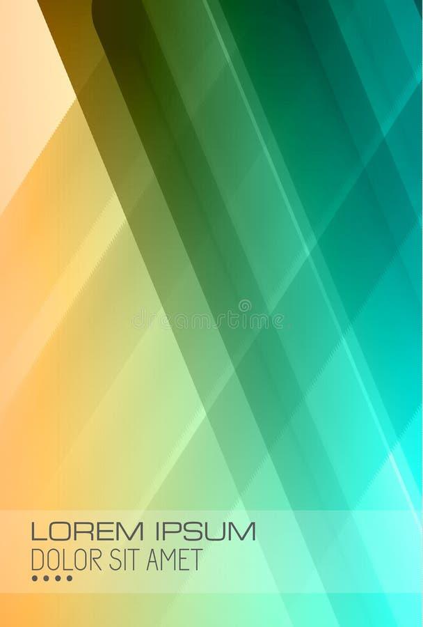 Fondo de alta tecnología abstracto para las cubiertas ilustración del vector