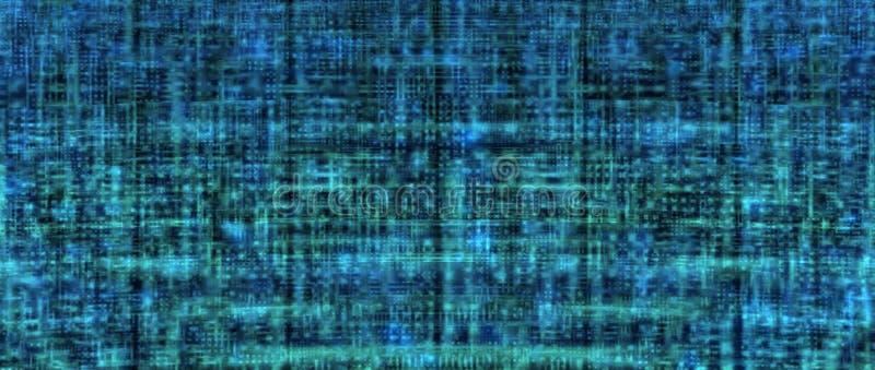 Fondo de alta tecnología azul fresco libre illustration