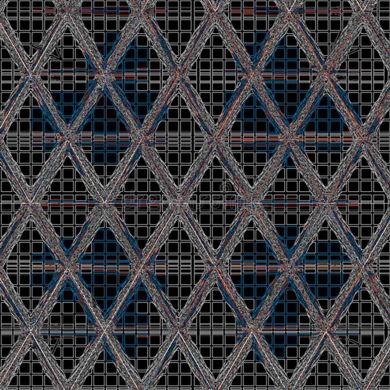 Fondo de alta tecnología de la malla abstracta del triángulo libre illustration