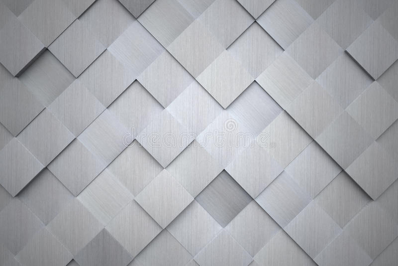 Fondo de aluminio de alta tecnología ilustración del vector