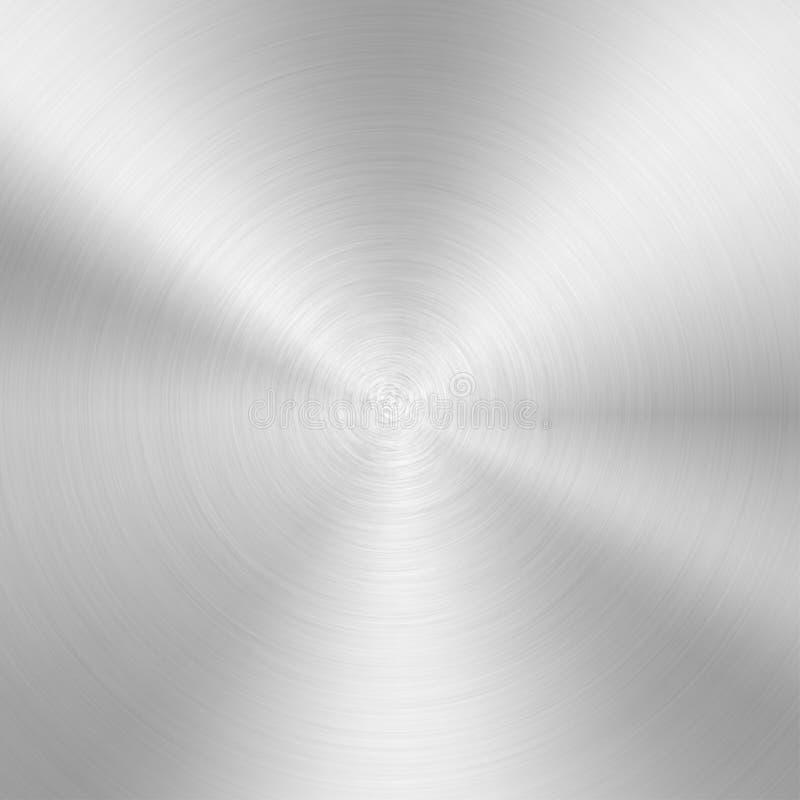 Fondo de aluminio de la textura stock de ilustración