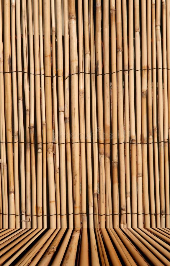 Fondo de bambú de la textura con imagen de archivo libre de regalías