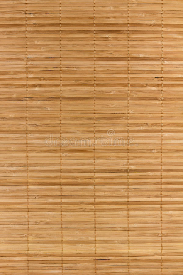 Fondo de bamb? de la estera imágenes de archivo libres de regalías