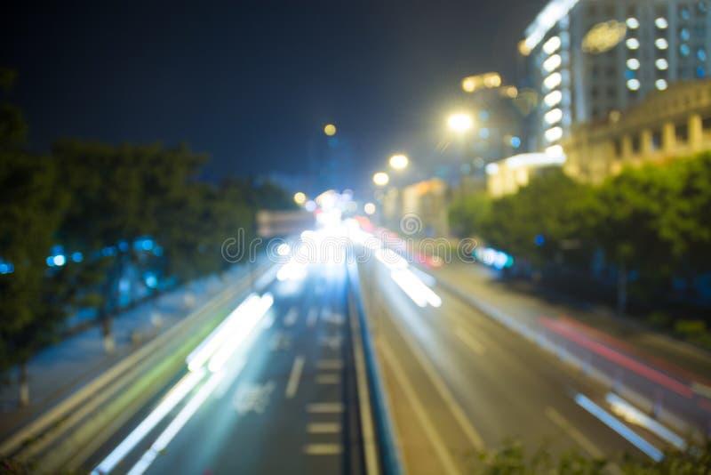 Fondo de Bokeh del semáforo imagen de archivo