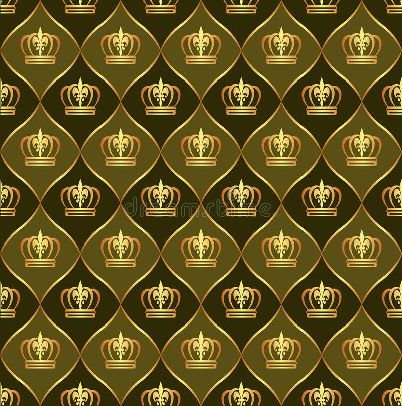 Fondo de Brown con las coronas