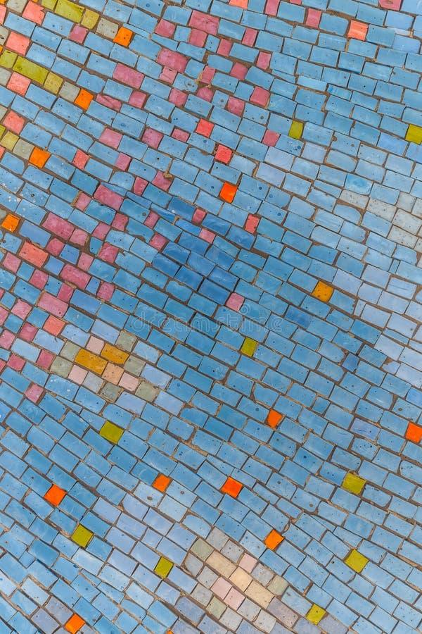 Fondo de cerámica colorido imagen de archivo