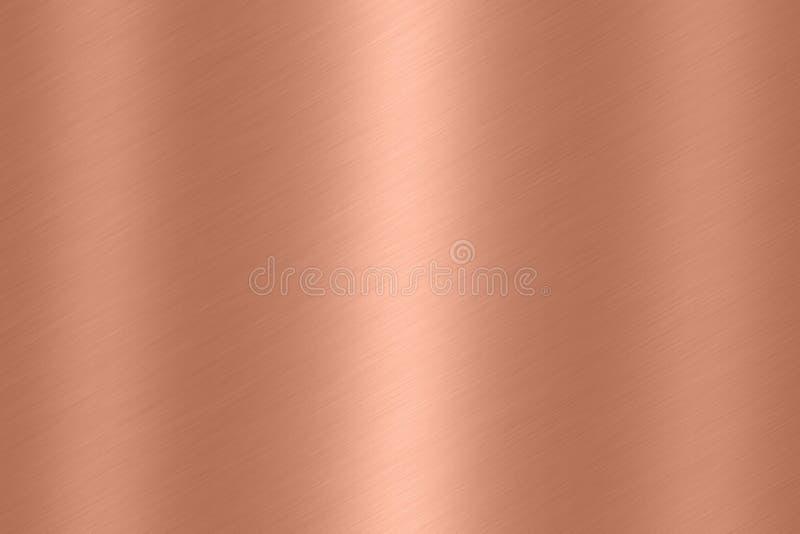 Fondo de cobre de la textura imagen de archivo