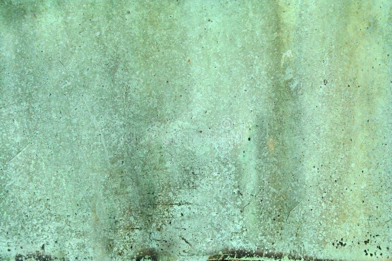 Fondo de cobre verde resistido imagen de archivo libre de regalías