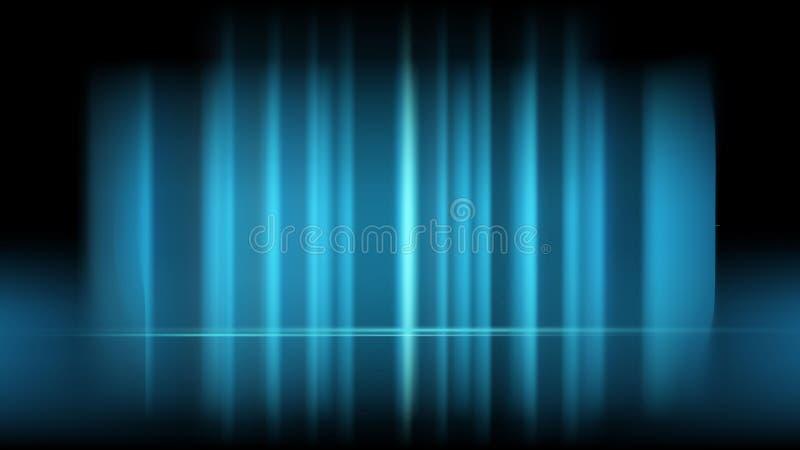 Fondo de color azul luminoso para su diseño imagenes de archivo
