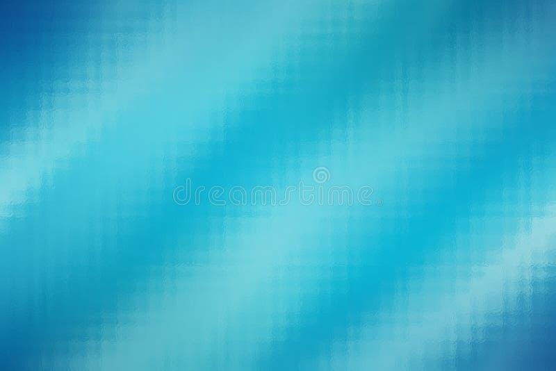 Fondo de cristal abstracto azul de la textura, plantilla del modelo del diseño libre illustration