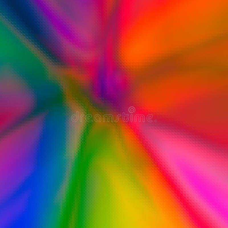 Fondo de cristal abstracto coloreado multi colorido de la pendiente de la textura libre illustration