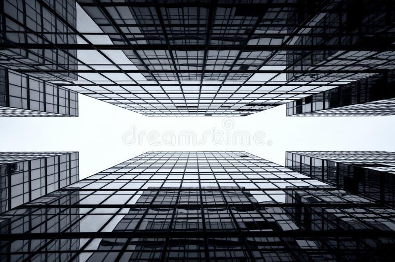 Fondo de cristal del rascacielos, Hong-Kong fotografía de archivo libre de regalías