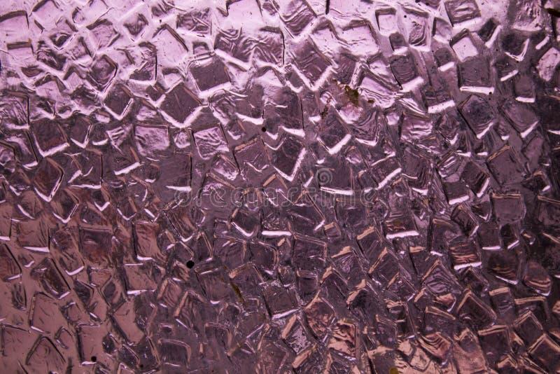 Fondo de cristal púrpura de la textura del vintage fotografía de archivo libre de regalías