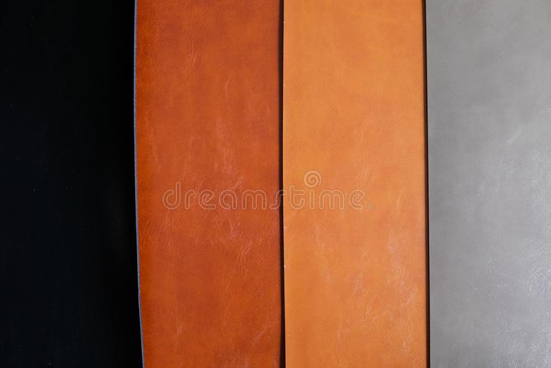 Fondo de cuero del color del lujo cuatro fotos de archivo