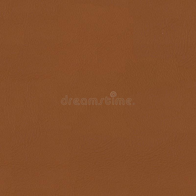 Fondo de cuero marrón suave del primer Textura cuadrada inconsútil, fotos de archivo libres de regalías