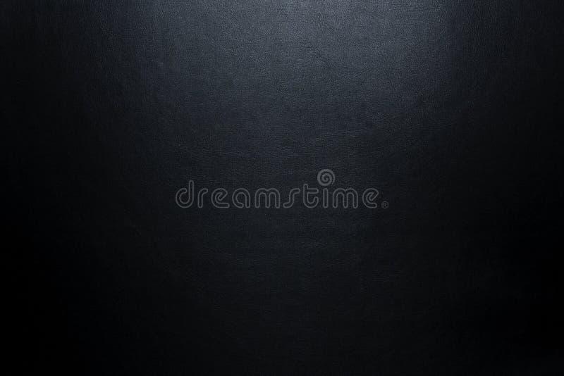 Fondo de cuero negro   fotos de archivo
