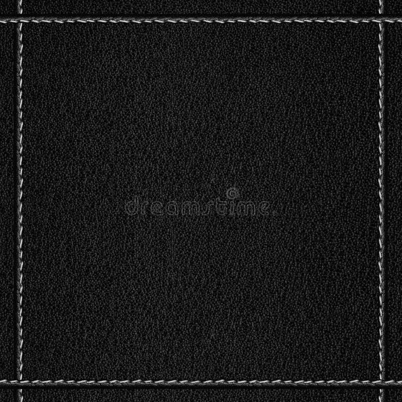 Fondo de cuero negro foto de archivo. Imagen de marco - 29668830