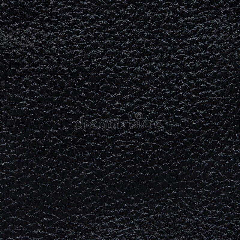 Fondo de cuero negro de lujo de la textura imagen de archivo