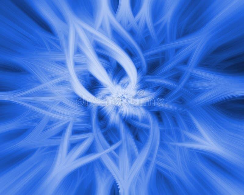 Fondo de estallido abstracto de la flor libre illustration