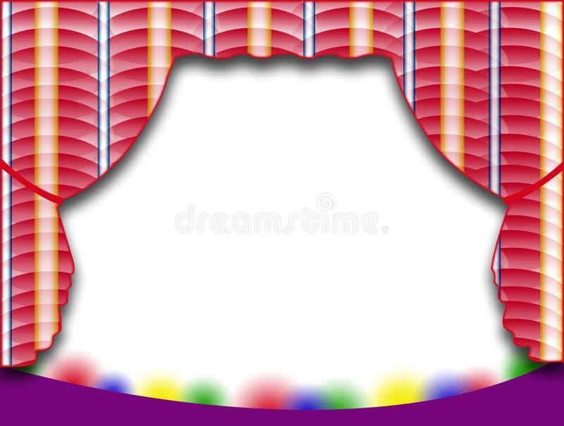 Download Fondo de etapa stock de ilustración. Ilustración de dramático - 7285236