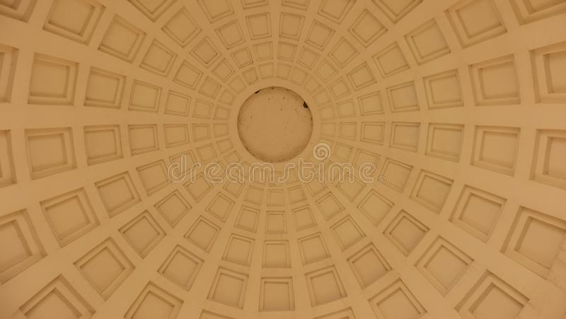 Fondo de figuras geométricas con un círculo en el centro fotografía de archivo libre de regalías