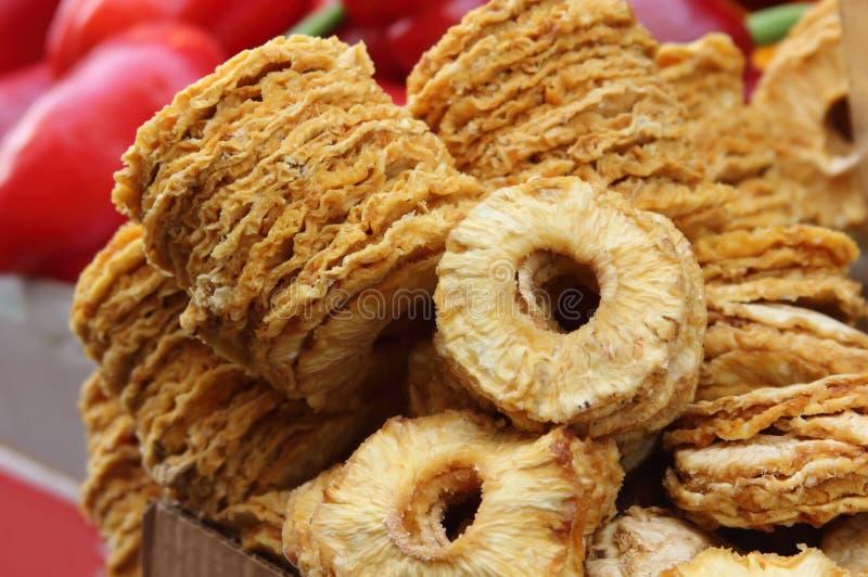 Fondo de frutas secadas foto de archivo libre de regalías