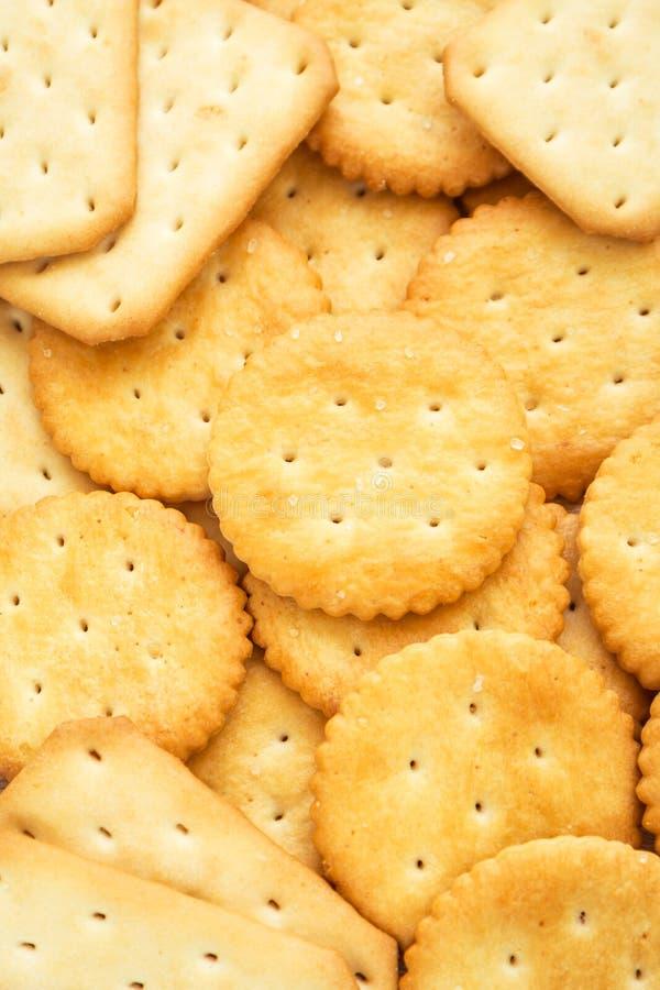Fondo de galletas clasificadas foto de archivo