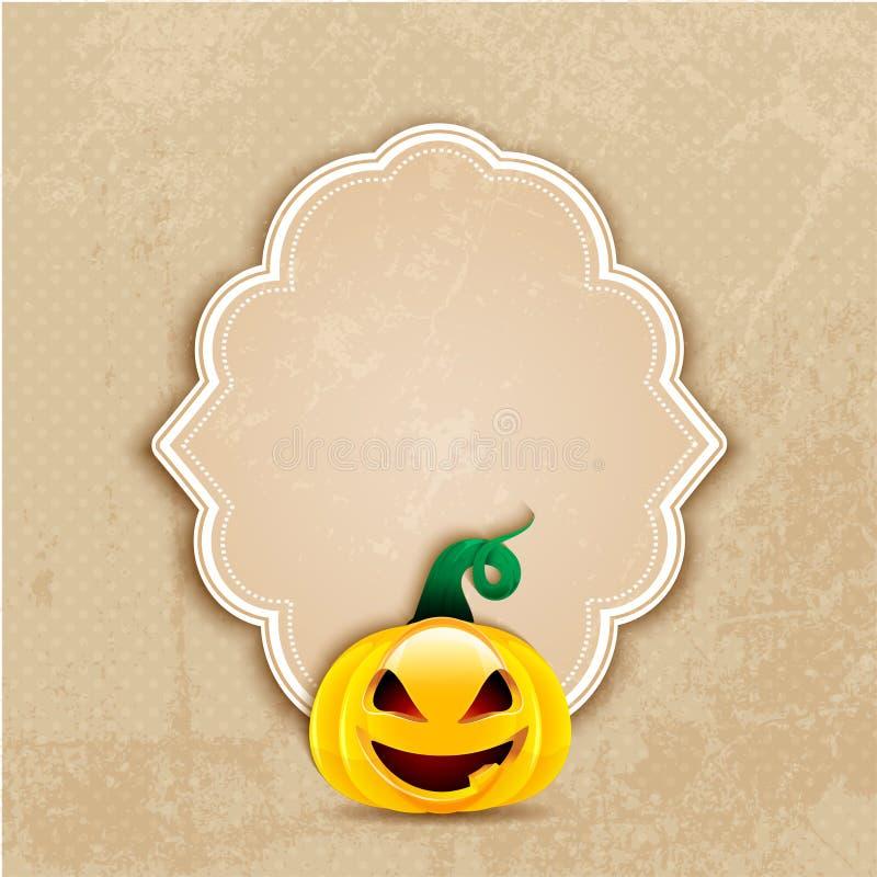 Fondo de Halloween del Grunge libre illustration