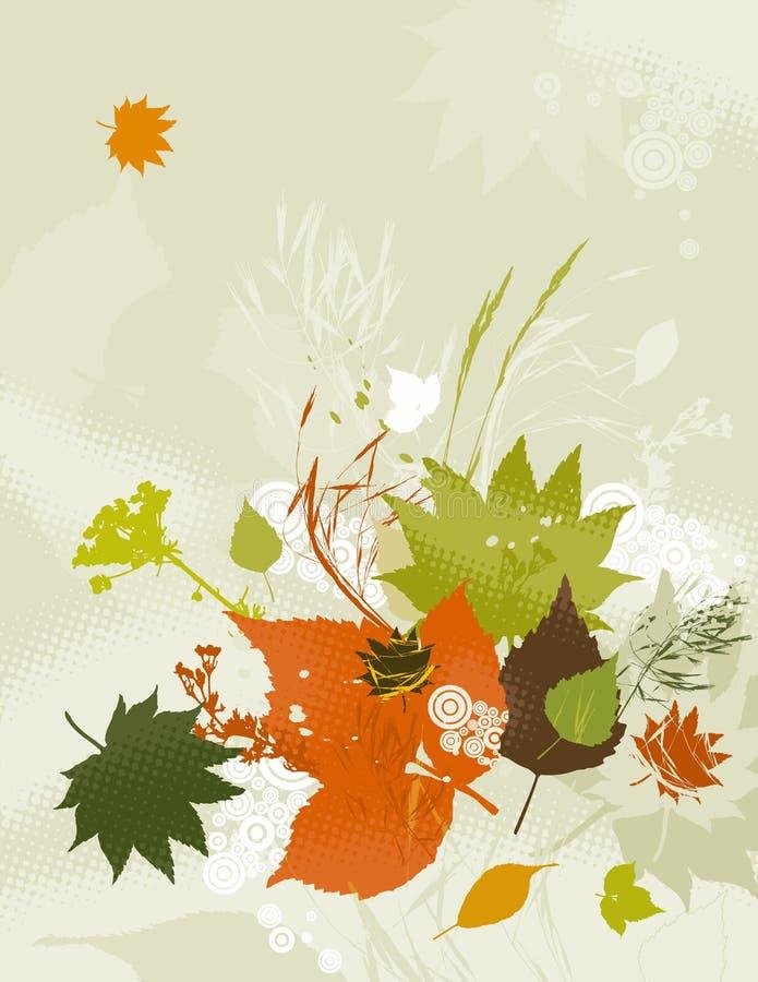Fondo de hojas, vector libre illustration