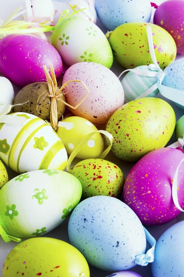 Fondo de huevos del este imagen de archivo libre de regalías
