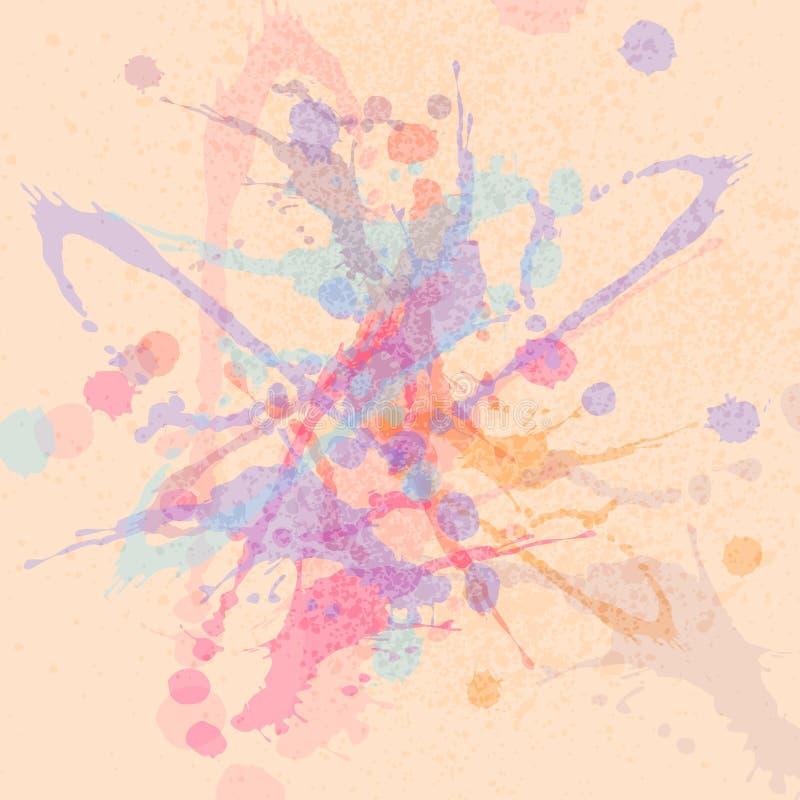 Download Fondo de la acuarela ilustración del vector. Ilustración de elemento - 41919887