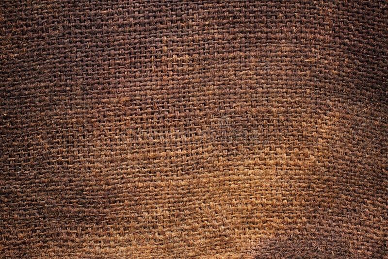 Fondo de la arpillera natural fotos de archivo libres de regalías