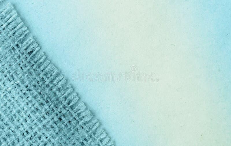 Fondo de la arpillera y del papel foto de archivo libre de regalías