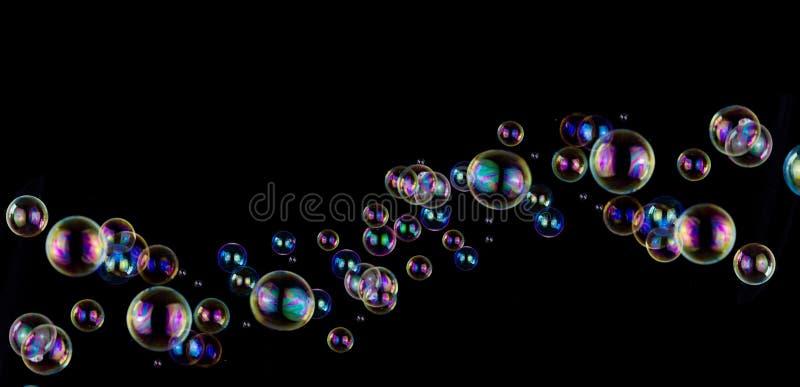 Fondo de la burbuja de jabón fotografía de archivo