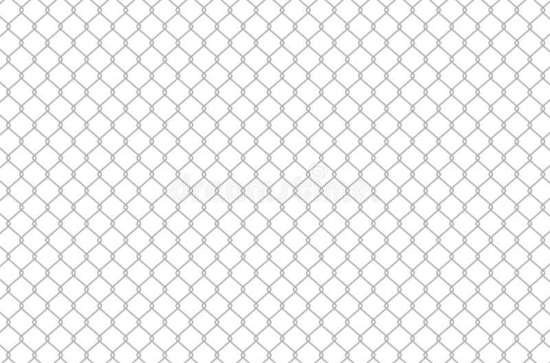 Fondo de la cerca de alambre ilustración del vector